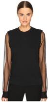 Sportmax Tullia Sheer Sleeve Top Women's Clothing