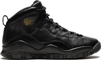 """Nike Kids Air Jordan 10 Retro BG NYC"""" sneakers"""