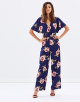 Miss Selfridge Floral Jumpsuit