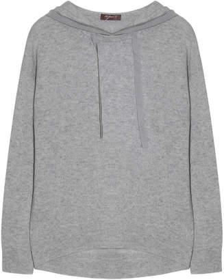 10per3 - Grey Cashmere Hoodie - gray   cashmere   s - Grey