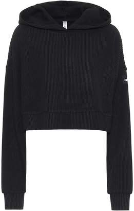 Alo Yoga Muse cropped hoodie