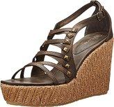 Volcom Women's Luck Wedge Platform Sandal