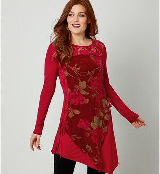 Joe Browns Asymmetric Long-Sleeved Tunic
