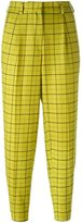 Etro windowpane trousers