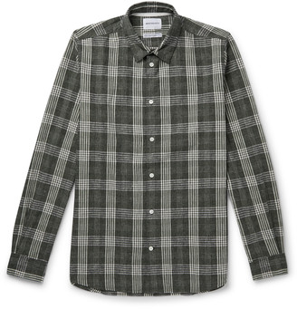 Norse Projects Hans Checked Cotton And Linen-Blend Shirt