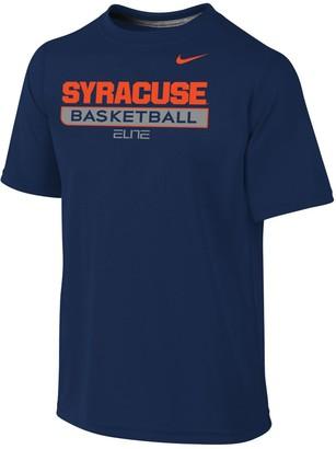 Nike Youth Navy Syracuse Orange Basketball Legend Practice Performance T-Shirt