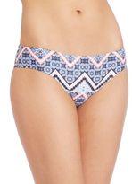 Shoshanna Moroccan Tile Hipster Bikini Bottom