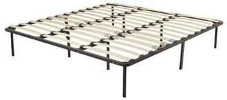 Alwyn Home Metal Bed Frame Platform Mattress Foundation Base Queen Size: King