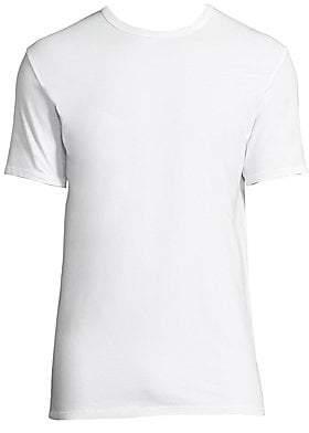 Calvin Klein Underwear Men's 2-Pack Classic-Fit Cotton Stretch Crewneck Tees