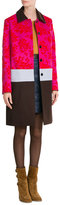 Mary Katrantzou Printed Coat with Wool