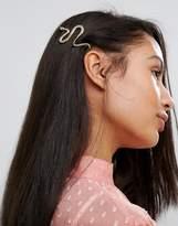 Orelia Snake Hair Clip