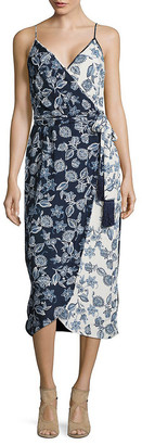Rachel Roy Contrast Floral Print Dress