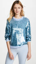 Marc Jacobs Sequin Crew Neck Sweater
