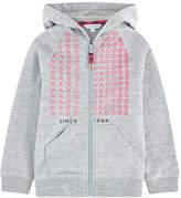 Little Marc Jacobs Full zip hoodie