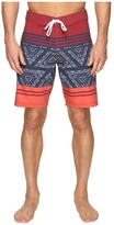 VISSLA Sinner Point Washed 4-Way Stretch Boardshorts 20""