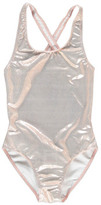 Finger In The Nose Sale - Olivia Metallic One Piece Swimsuit