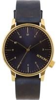 Komono Regal Blue Winston Watch