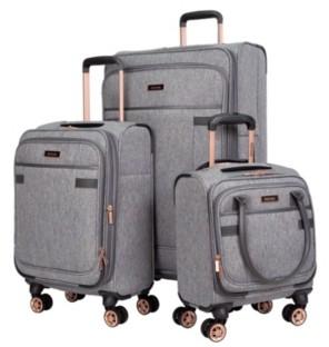 Kensie 3-Pc. Hudson Expandable Softside Luggage Set