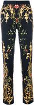 Alberta Ferretti Stampa Faille printed skinny trousers - women - Cotton/Acetate/Cupro/other fibers - 40
