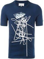 Maison Margiela tape print T-shirt
