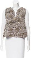 Chanel 2015 Metallic Vest w/ Tags
