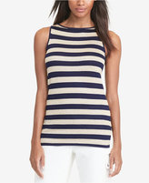 Lauren Ralph Lauren Metallic Striped Tank Top