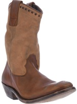 Golden Goose Deluxe Brand distressed cowboy boot