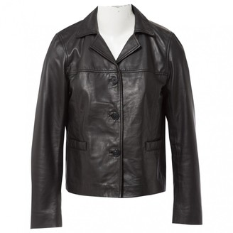 Gerard Darel Black Leather Jackets