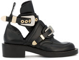 Balenciaga Ceinture ankle boots - women - Leather - 34.5