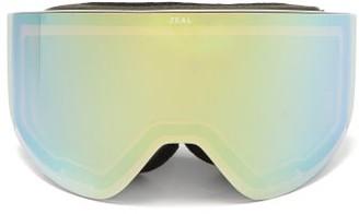 Zeal Optics Hatchet Optimum Cylindrical Tpu Goggles - Green Multi