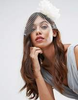 Asos Wedding Flower Net Fascinator Headband