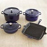 Staub Cast-Iron 7-Piece Cookware Set