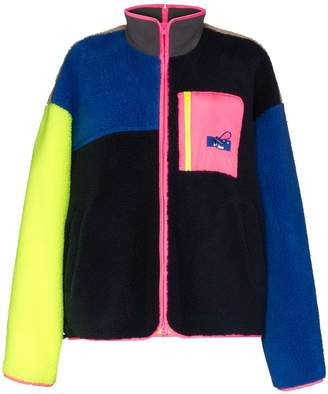 Ader Error high neck fleece jacket