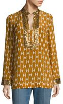 Tory Burch Tory Silk Tunic