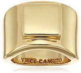 Vince Camuto Geo Cigar Ring, Size 7