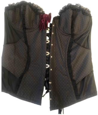 Agent Provocateur Black Cotton Top for Women