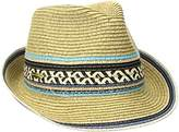 Steve Madden Women's Fedora with Tribal Band