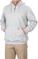 Carhartt Rain Defender® Paxton Hoodie - Zip Neck, Factory Seconds (For Big and Tall Men)