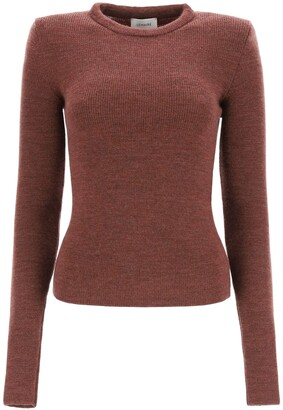 Lemaire Shoulder-Detailed Knitted Sweater