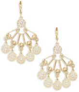 Nanette Lepore Stone-Accented Chandelier Earrings