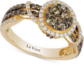 LeVian Le Vian Chocolatier Diamond Ring (9/10 ct. t.w.) in 14k Gold