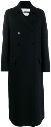 Jil Sander Oversized Double-Breasted Coat