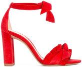 Alexandre Birman Clarita bow-embellished sandals - women - Leather/Suede - 36