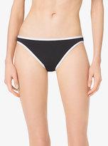 Michael Kors Contrast Classic Bikini Bottoms