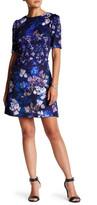 Betsey Johnson Scuba Elbow Sleeve Dress