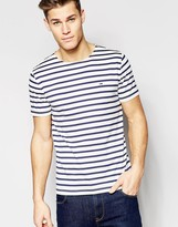 Hilfiger Denim T-shirt With Blue Breton Stripe
