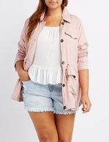 Charlotte Russe Plus Size Lightweight Anorak Jacket