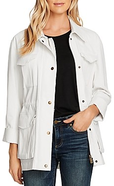 Vince Camuto Stretch Cotton Twill Jacket