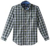 Chaps Toddler Boy Long Sleeve Plaid Button-Down Shirt