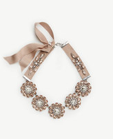 Ann Taylor Floral Necklace